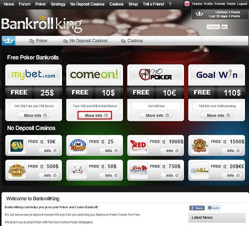 Free poker money no deposit instantly